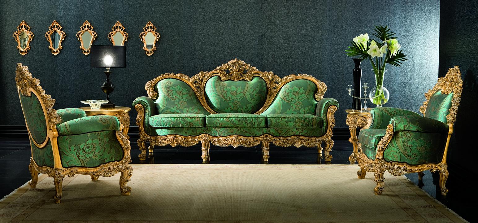 Как сделать кресло в стиле барокко своими руками