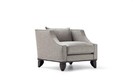 transitional armchair