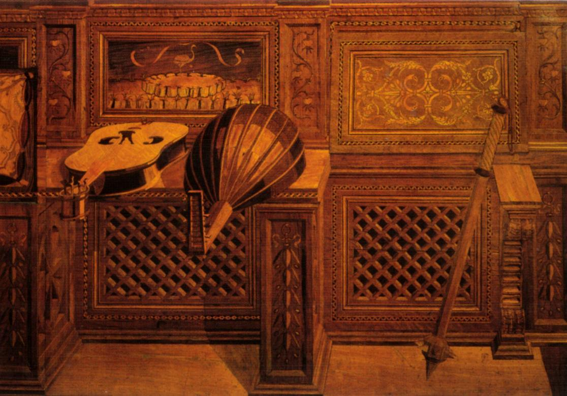 urbino wood inlay