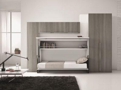 wall unit small bedroom