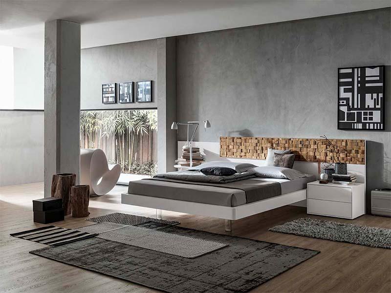 Scacco Bed Set Bedrooms Modern Santa Lucia Michelangelo Designs Group