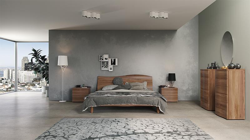 Wave Bed Set Bedrooms, Modern, Santa Lucia - Michelangelo Designs ...