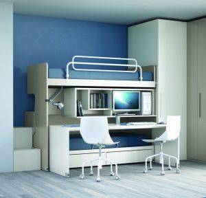 smart space bed desk