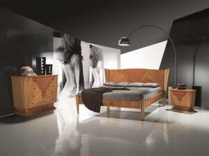 bedroom with lighting