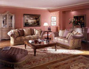 living room eclectic style