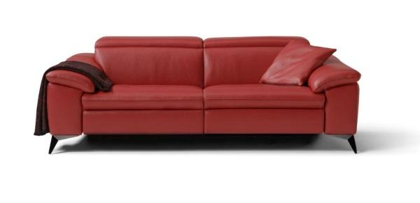 Martine leather sofa