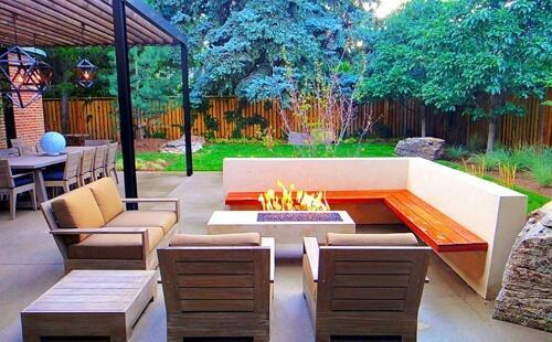 A Modern Italian Style for Outdoor Living Spaces
