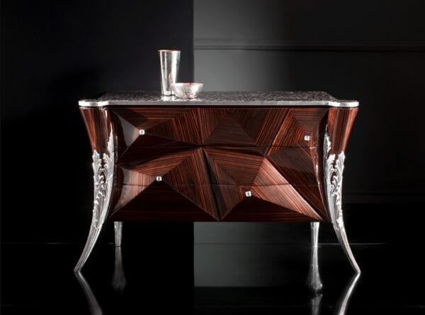 luxury wooden sideboard
